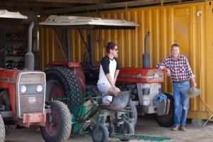 Joondalup Turf Farm - turf farm tractors